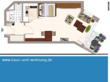 CLEVER GESCHNITTENE SINGELWOHNUNG – ZENTRAL UND DENNOCH RUHIG GELEGEN, 50823 Köln, Etagenwohnung
