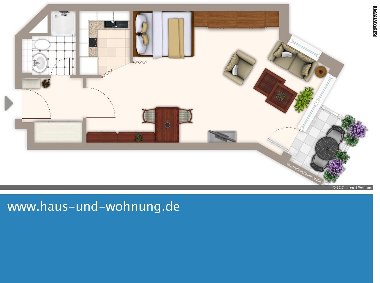 haus und wohnung markus l hr clever geschnittene singelwohnung zentral und dennoch ruhig. Black Bedroom Furniture Sets. Home Design Ideas