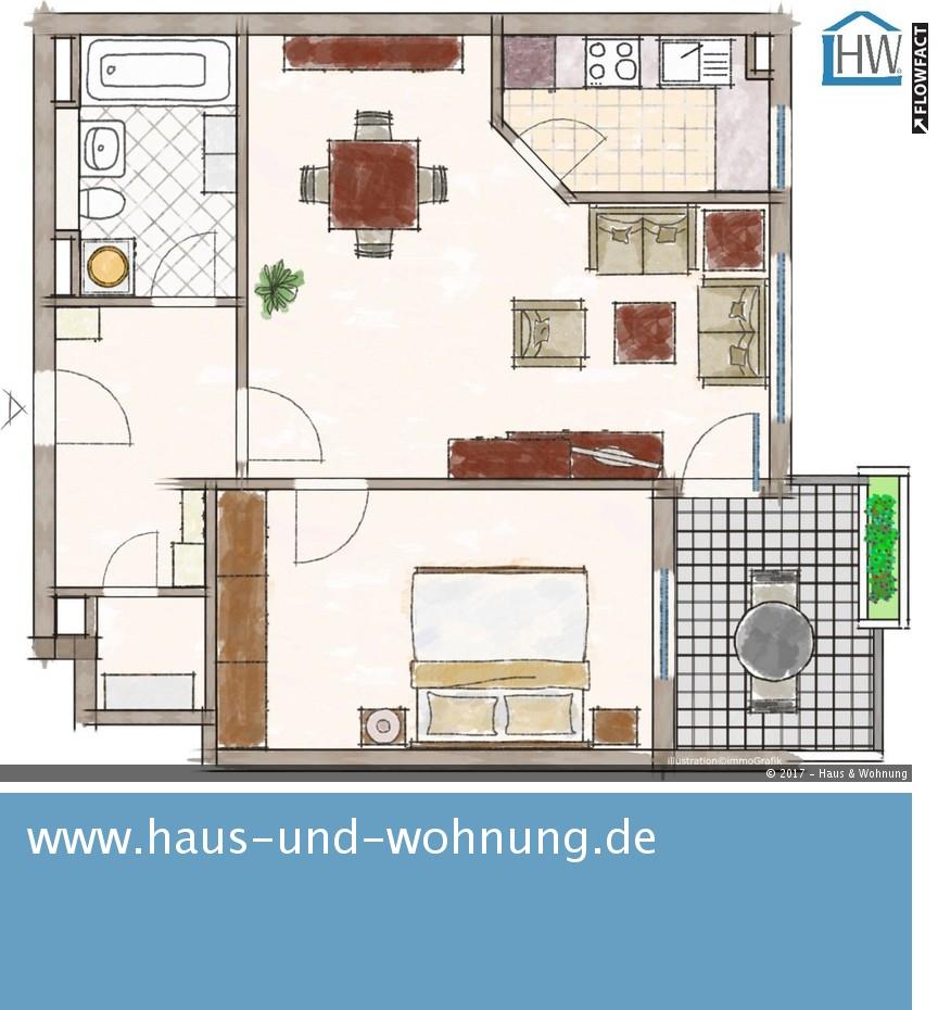 Haus und Wohnung – Markus Löhr CLEVER GESCHNITTENE 2-RAUM-WOHNUNG IN ...