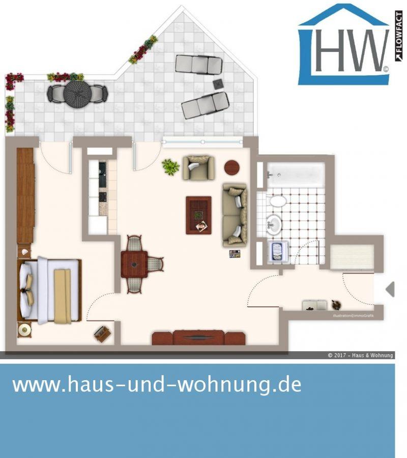 haus und wohnung markus l hr ungew hnliche dachgeschosswohnung zentral und dennoch ruhig. Black Bedroom Furniture Sets. Home Design Ideas