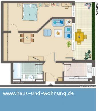 CLEVER GESCHNITTE 2-RAUM-WOHNUNG IN BELIEBTER LAGE VON EHRENFELD, 50823 Köln (Ehrenfeld), Erdgeschosswohnung
