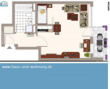 CLEVER GESCHNITTENE SINGELWOHNUNG – CENTRAL ABER RUHIG GELEGEN IN EHRENFELD, 50823 Köln (Ehrenfeld), Etagenwohnung