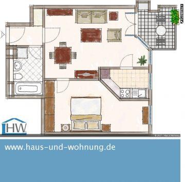 CLEVER GESCHNITTENE SINGELWOHNUNG  MIT SONNIGEN WESTBALKON IN BELIEBTER LAGE VON DUISDORF, 53123 Bonn (Lessenich), Etagenwohnung