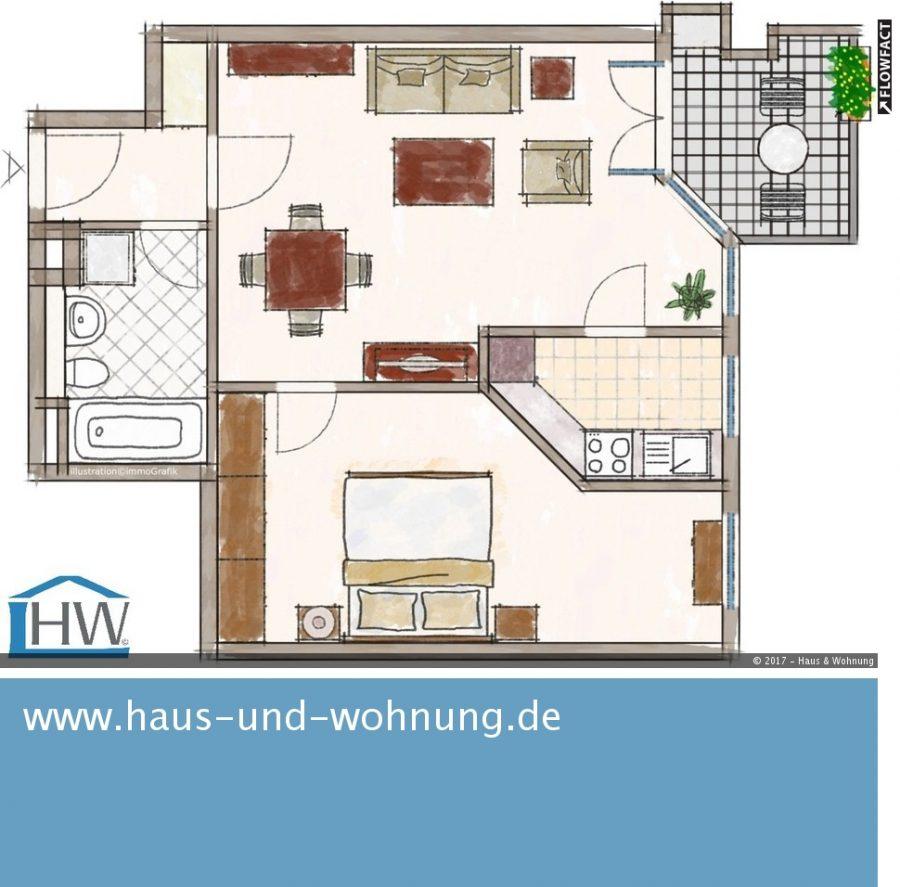 haus und wohnung markus l hr clever geschnittene singelwohnung mit sonnigen westbalkon in. Black Bedroom Furniture Sets. Home Design Ideas