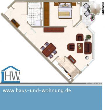 GROSSZÜGIG GESCHNITTEN UND FRISCH RENOVIERTE 2-RAUM-WOHNUNG IM BELIEBTEN AGNESVIERTEL, 50670 Köln (Innenstadt), Etagenwohnung