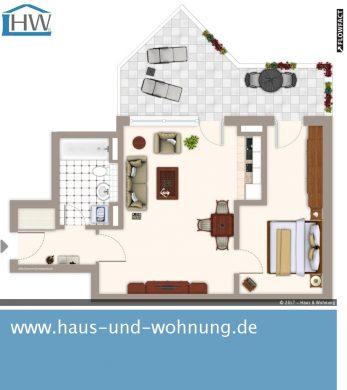 UNGEWÖHNLICHE DACHGESCHOSSWOHNUNG – ZENTRAL UND DENNOCH RUHIG GELEGEN, 50823 Köln (Ehrenfeld), Dachgeschosswohnung