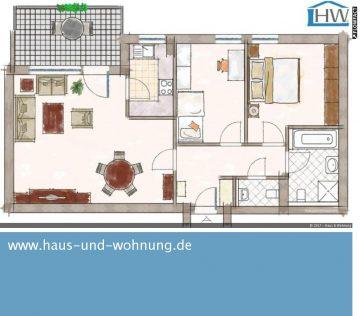 CLEVER GESCHNITTENER NEUBAU AUS 2011 IN BELIEBTER LAGE VON BONN – DUISDORF, 53123 Bonn (Hardtberg), Etagenwohnung