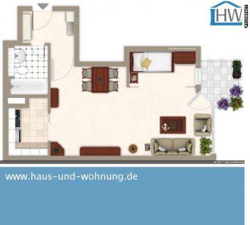 GROSSZÜGIG GESCHNITTENE SINGELWOHNUNG – CENTRAL ABER RUHIG GELEGEN IN EHRENFELD, 50823 Köln (Ehrenfeld), Etagenwohnung