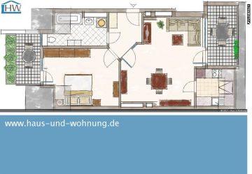 SELTENE GELEGENHEIT  — RENOVIERTE DACHGESCHOSSWOHNUNG MIT BLICK AUF DIE AGNESKIRCHE, 50670 Köln (Innenstadt), Etagenwohnung