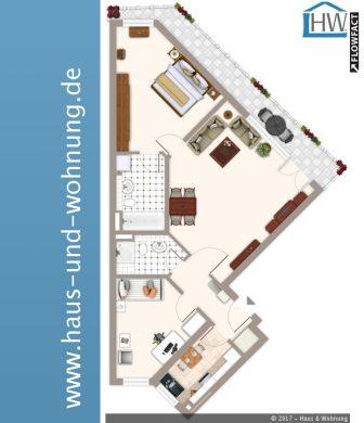 UNGEWÖHNLICH GESCHNITTENE 3-RAUM-WOHNUNG IN ZENTRALER LAGE VON EHRENFELD, 50823 Köln (Ehrenfeld), Erdgeschosswohnung