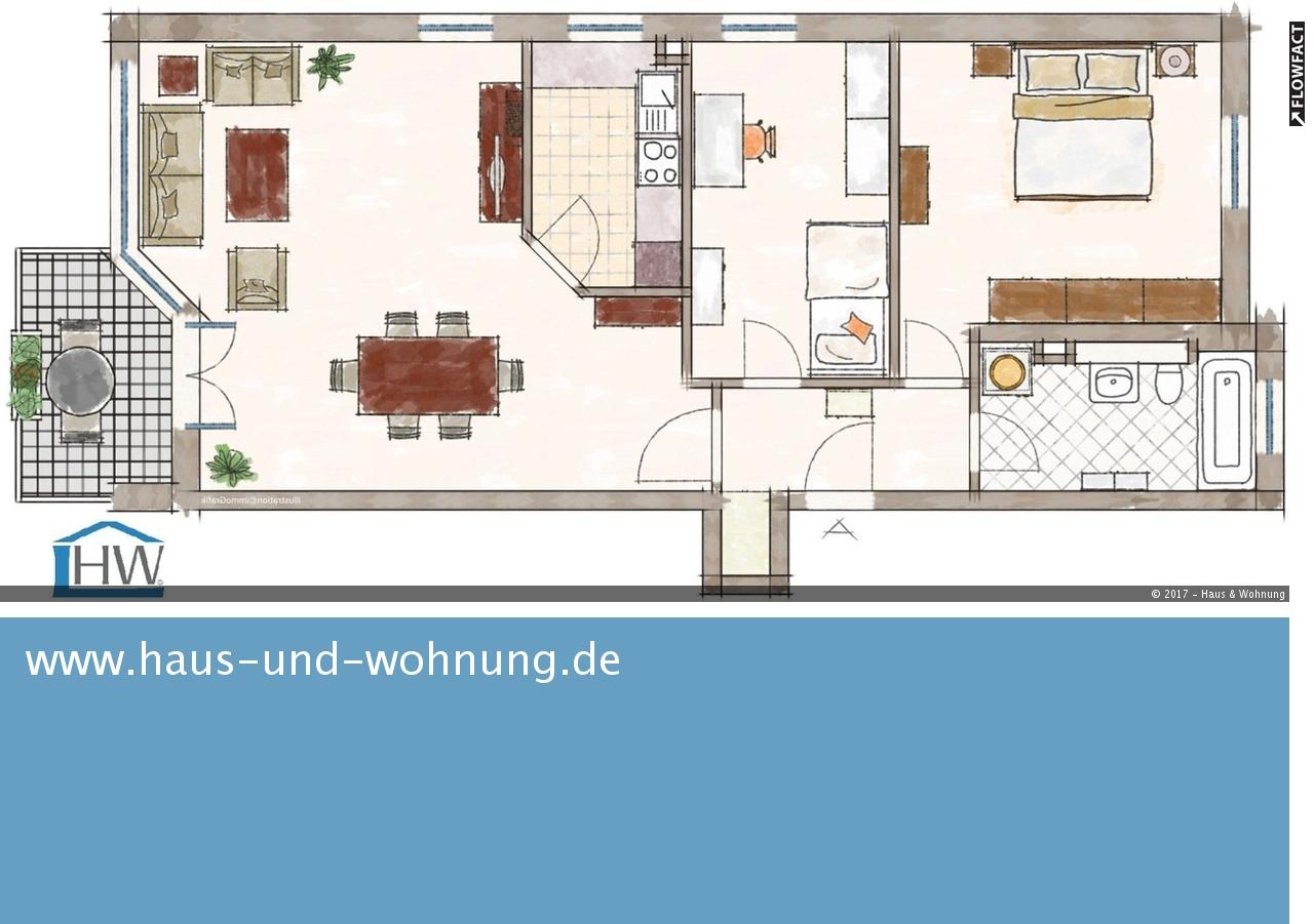 haus und wohnung markus l hr clever geschnittene 3 raum wohnung verkehrsg nstig und dennoch. Black Bedroom Furniture Sets. Home Design Ideas