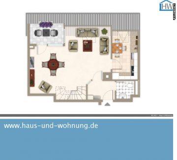 UNGEWÖHNLICHE MAISONETTE – DACHGESCHOSSWOHNUNG MIT 88QM GRUNDFLÄCHE, 53123 Bonn (Lessenich), Dachgeschosswohnung