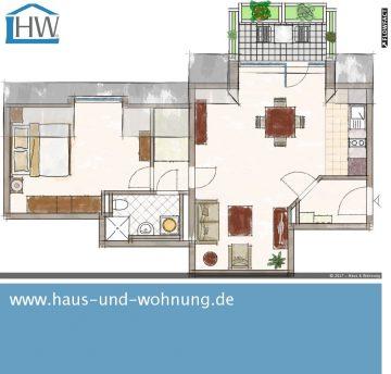 CLEVER GESCHNITTENE DACHGESCHOSSWOHNUNG IM BELIEBTEN AGNESVIERTEL, 50670 Köln (Innenstadt), Etagenwohnung