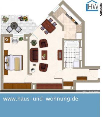 CLEVER GESCHNITTENE 2-RAUM-WOHNUNG — ZENTRAL UND DENNOCH RUHIG GELEGEN, 50823 Köln (Ehrenfeld), Etagenwohnung