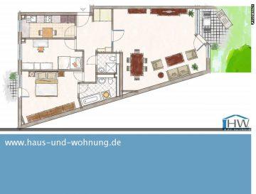 FRISCH RENOVIERT UND GROSSZÜGIG GESCHNITTEN, 50389 Wesseling (Keldenich), Etagenwohnung