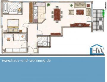FRISCH RENOVIERTE 3-RAUM-WOHNUNG – TAGESLICHTBAD UND SONNIGER WESTBALKON INKLUSIVE, 51427 Bergisch Gladbach (Bensberg), Etagenwohnung