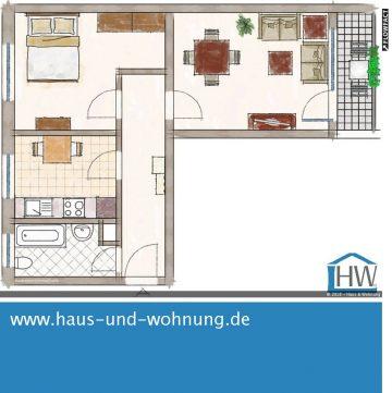 GEMÜTLICHE DACHGESCHOSSWOHNUNG – KEINE 500M VOM BAHNHOF DERKUM ENTFERNT, 53919 Weilerswist (Ottenheim), Dachgeschosswohnung