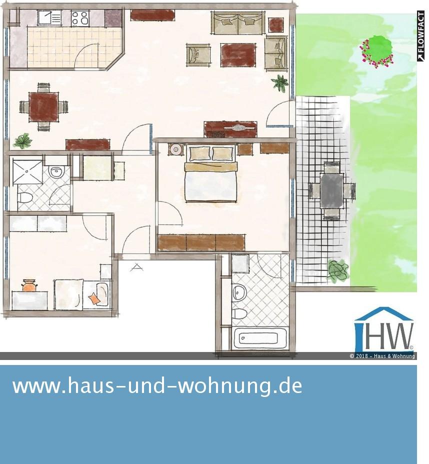 haus und wohnung markus l hr seit ber 18 jahren solide vermietet sonnige terrassenwohnung. Black Bedroom Furniture Sets. Home Design Ideas