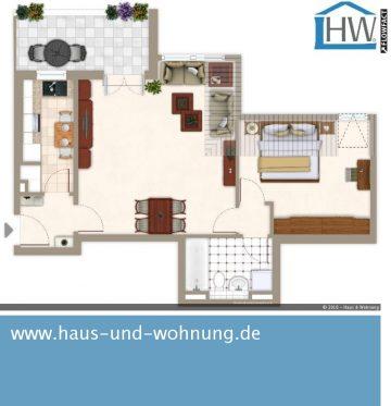 CENTRAL ABER RUHIG GELEGEN – DACHGESCHOSSWHG. MIT 69 QM GRUNDFLÄCHE IN BELIEBTER LAGE VON EHRENFELD, 50823 Köln (Ehrenfeld), Dachgeschosswohnung
