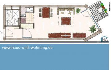 CLEVER GESCHNITTENE SINGLEWOHNUNG – CENTRAL ABER RUHIG GELEGEN IN EHRENFELD, 50823 Köln (Ehrenfeld), Etagenwohnung