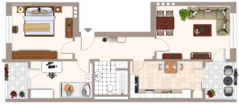 haus und wohnung markus l hr seltene gelegenheit clever geschnittene drei raum wohnung in. Black Bedroom Furniture Sets. Home Design Ideas