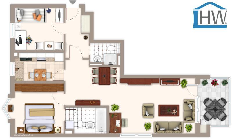 haus und wohnung markus l hr grossz gig geschnitten in beliebter lage von monheim baumberg. Black Bedroom Furniture Sets. Home Design Ideas
